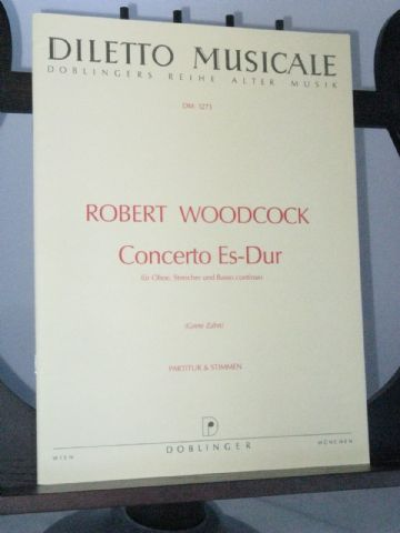 Woodcock R - Concerto for Oboe in E Flat